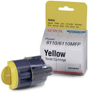 TONER XEROX PHASER 6110 Y YELLOW